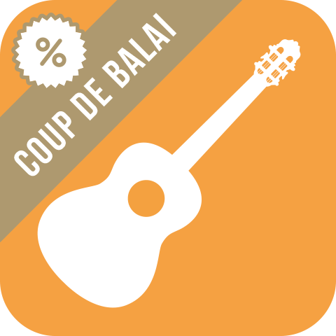 Coup de balai partitions <br> 2 Guitares