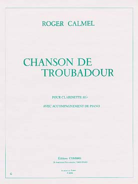 Illustration calmel r chanson de troubadour