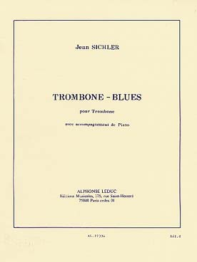 Illustration sichler trombone blues