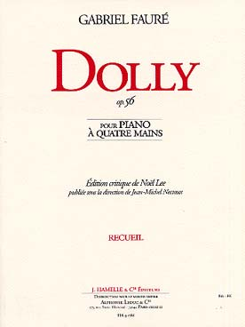 Illustration faure dolly, 6 pieces op. 56