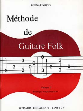 Illustration de Méthode de guitare folk (solfège et tablature) - Vol. 2