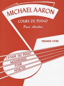 diam piano m thodes classiques aaron cours pour adultes vol 1 francais. Black Bedroom Furniture Sets. Home Design Ideas