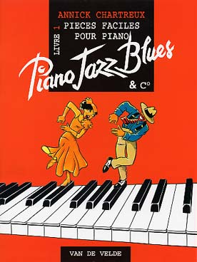 Illustration chartreux piano jazz, blues & co livre 1