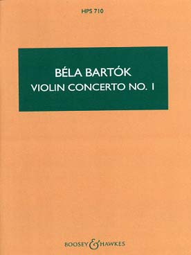 Illustration bartok concerto pour violon n° 1