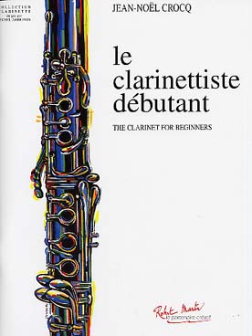 Illustration crocq le clarinettiste  debutant