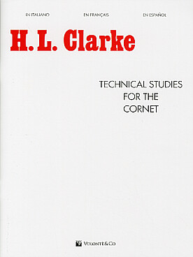 Illustration clarke h technical studies for cornet