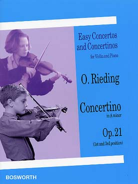 Illustration rieding op. 21 : concertino en la min