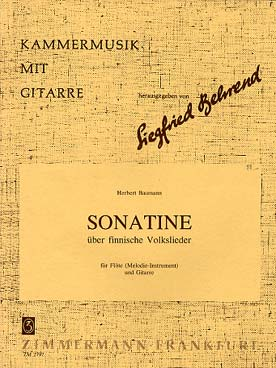 Illustration baumann sonatine chants pop. finnois
