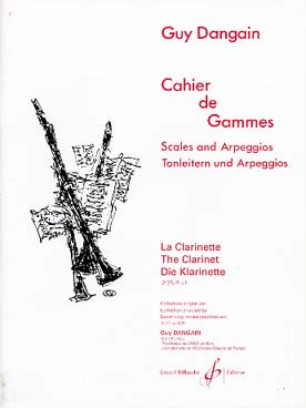 Illustration dangain cahier de gammes