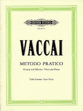 Illustration vaccai methode chant peters vx grave