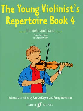 Illustration de YOUNG VIOLINIST'S REPERTOIRE - Vol. 4