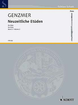 Illustration genzmer neuzeitliche etuden vol. 2