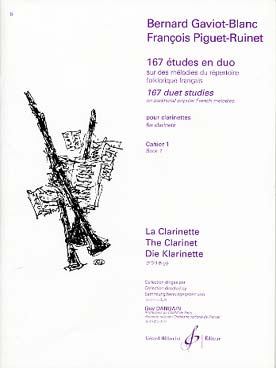 Illustration gaviot/piguet 167 etudes en duo vol. 1