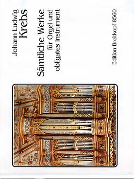 Illustration krebs oeuvres completes orgue