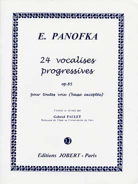 Illustration panofka 24 vocalises op. 85