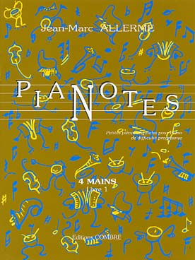Illustration allerme jm pianotes 4 mains vol. 1
