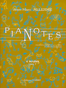 Illustration allerme jm pianotes 4 mains vol. 2