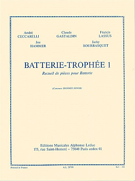 Illustration batterie trophee vol. 1