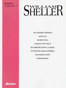 Illustration sheller vol. 1 piano et chant