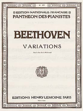 Illustration beethoven variations  la molinara