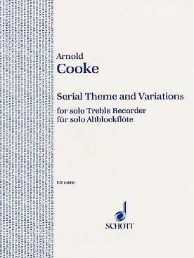 Illustration cooke serial theme and variations (alto)