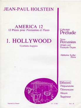Illustration holstein america 12 : piece 1 hollywood