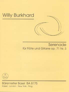 Illustration burkhard serenade op. 71 n° 3