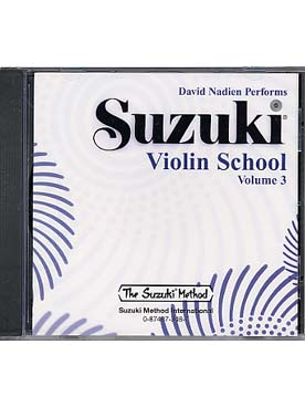 Illustration suzuki violin school  vol. 3 cd