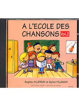Illustration allerme/villemin ecole chansons vol 2