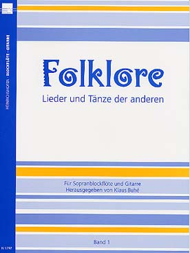 Illustration folklore, lieder und tanze vol. 1