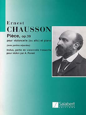 Illustration chausson piece op. 39