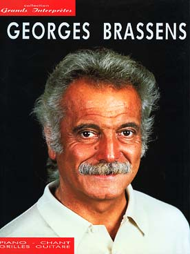 Illustration brassens collection grands interpretes