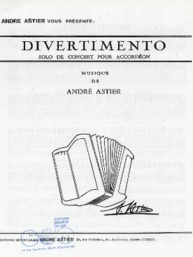 Illustration astier divertimento