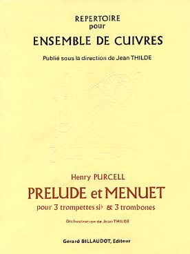 Illustration purcell prelude et menuet 3 trp/3 trb