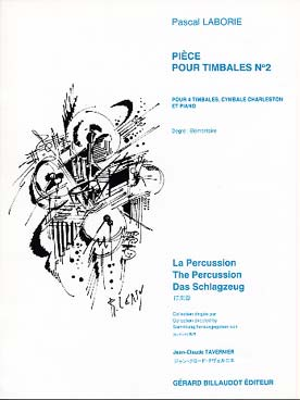 Illustration laborie piece pour timbales n° 2