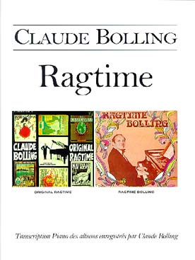 Illustration bolling ragtime piano