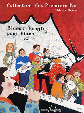 Illustration masson blues et boogie pour piano vol. 1