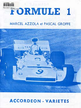 Illustration azzola/groffe formule 1