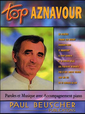 Illustration top aznavour