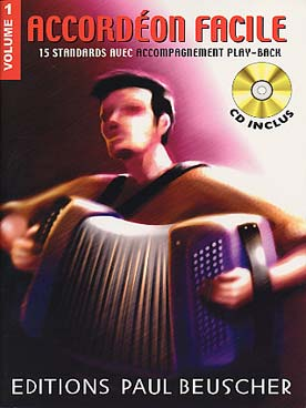 Illustration accordeon facile avec cd vol. 1
