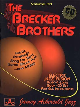 Illustration aebersold vol. 83 : brecker brothers..