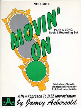 Illustration aebersold vol.  4 : movin'on