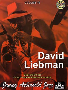 Illustration aebersold vol. 19 : david liebman