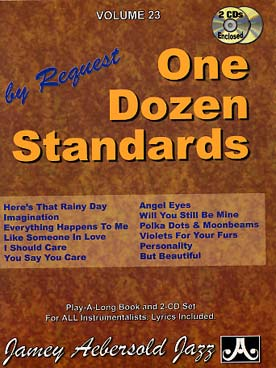 Illustration aebersold vol. 23 : one dozen standards