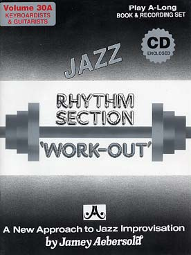 Illustration aebersold vol. 30a : a rythm section
