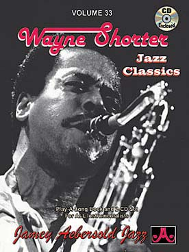 Illustration aebersold vol. 33 : wayne shorter
