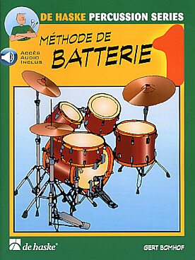 Illustration bomhof methode de batterie + cd vol. 1