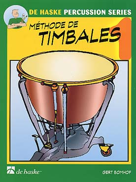 Illustration bomhof methode de timbales vol. 1