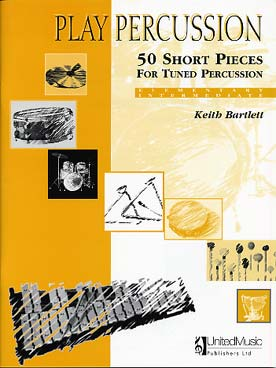 Illustration de 50 Short pieces for tuned percussion (elementary/intermediate)