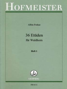 Illustration frehse 36 etudes vol. 1